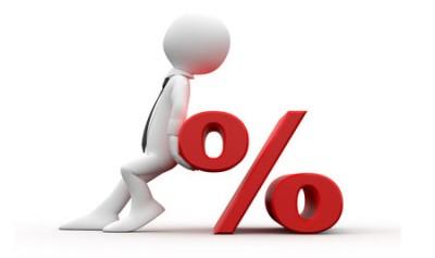 Банк увеличил процент по кредиту.