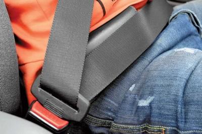Что делать если не пристегнут ремень безопасности?