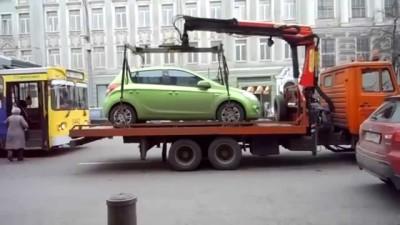 Если не нашли авто там, где ранее припарковались?